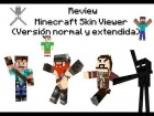 Reviews Minecraft Skin Viewer! Haz tus skin con movimientos en 3D
