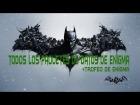 Batman : Arkham Origins - Localizaci�n de los 200 paquetes de datos y el trofeo de Enigma