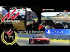 V�deo: Assetto Corsa PS4 - Audi R8 - Barcelona Race