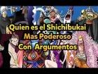 V�deo: �Quien es el Shichibukai mas Poderoso? 2014