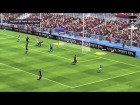 V�deo FIFA 14 Barcelona 1 - Milan 1 2013 Jordi Alba se cabrea.