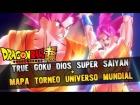 Video: (MOD) TRUE GOKU GOD + MAPA TORNEO UNIVERSO | XENOVERSE