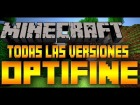 Descargar Optifine || Todas las versiones || Minecraft