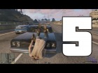 V�deo Grand Theft Auto V: GTA V | Atropellos a c�mara lenta | EPIC FAILS 5
