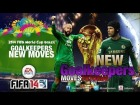 FIFA14 World Cup Brazil 2014 | Tutorial Goalkeepers New Moves
