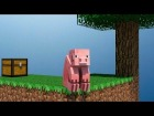 V�deo Minecraft: Animaci�n de Minecraft - If a pig plays SkyBlock [Part 1]