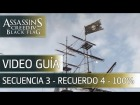 Assassin's Creed 4 Black Flag Walkthrough - Secuencia 3 - Recuerdo 4 al 100%