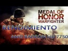 V�deo: Rendimiento: MOH Warfighter AMD Radeon 7750 | R7 250 | R7 250x