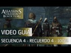 Assassin's Creed 4 Black Flag Walkthrough - Secuencia 4 - Acorralado y desesperado al 100%