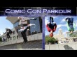 Assassins Creed and Mario Brothers Parkour at Comic Con