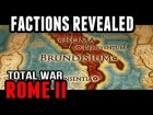 "V�deo: ""Playable Factions"" ROME II: Total War (Overview)"