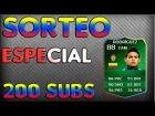ESPECIAL 200 SUBS | SORTEO JAMES RODRIGUEZ IMOTM 88 | FIFA 14