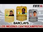 Fifa 14 Ultimate Team | BPL -  Los mejores y m�s r�pidos centrocampistas |