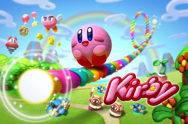 Kirby y el Pincel del Arcoíris, el último lanzamiento de la saga en Wii U.