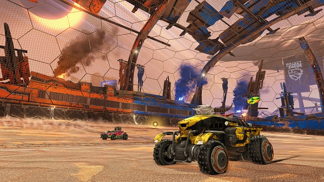 Rocket League is over eight million players