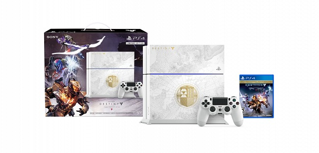 Destiny - The King of the Possessed come with a custom PlayStation 4