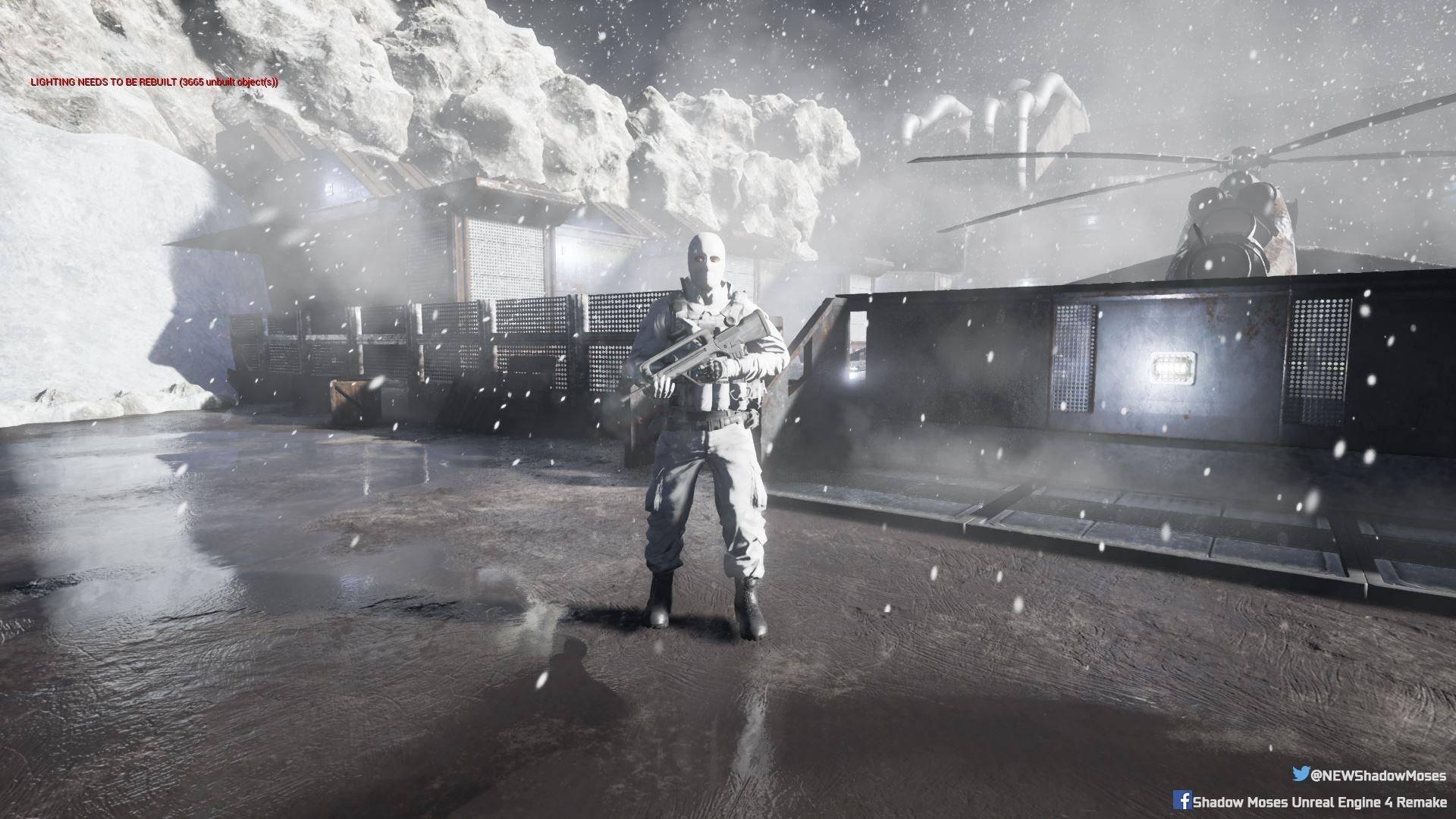 Shadow Moses, el ambicioso remake patrio de Metal Gear Solid en Unreal Engine 4 Shadow_moses-3266418