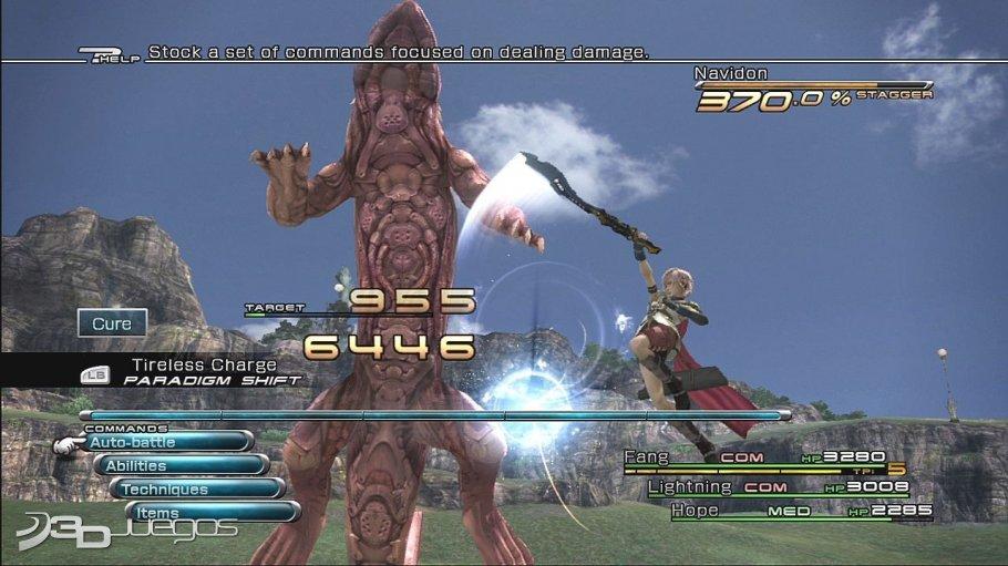 Imagenes Final Fantasy XIII XBOX 360