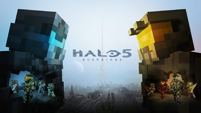 Halo 5: Guardians reaches Minecraft Xbox systems