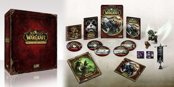 Collector�s Edition de Mists of Pandaria