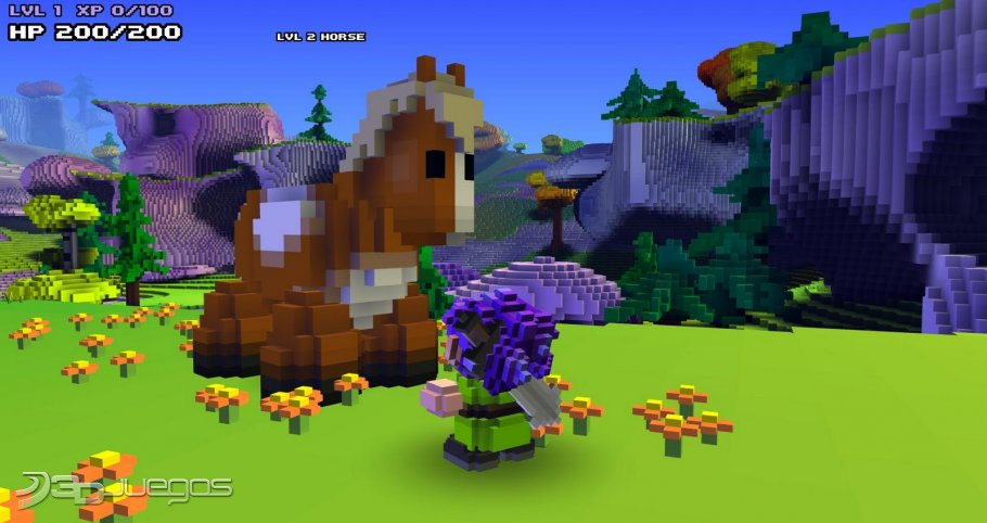 descargar cube world mas crack full gratis