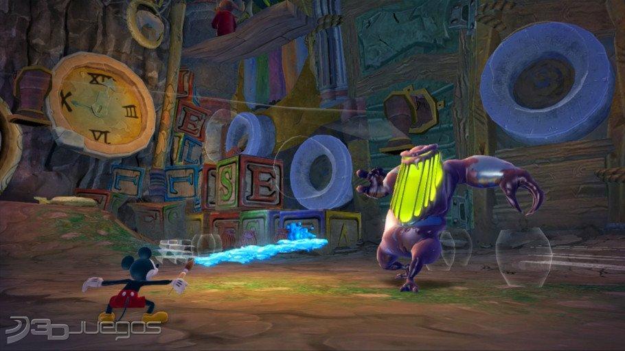 Imagenes Epic Mickey 2: El Retorno de Dos Héroes XBOX 360