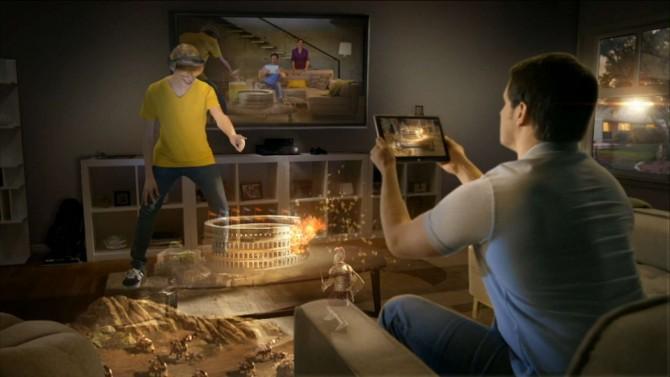 Microsoft muestra su propio dispositivo de realidad virtual para Xbox One