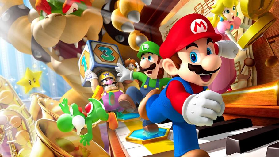 Blue television games super mario maker online