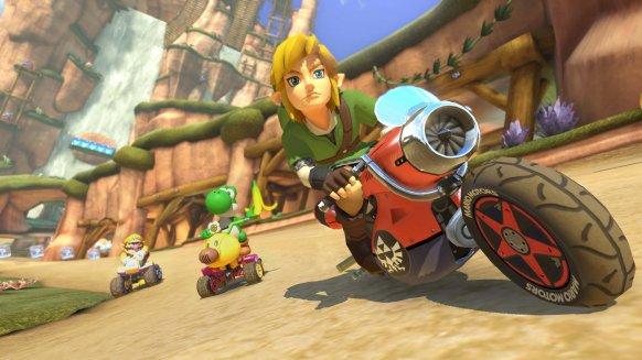Los universos de The Legend of Zelda y Animal Crossing llegarán a Mario Kart 8