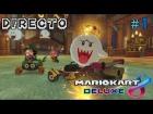 Video: Mario Kart 8 Deluxe - Directo #1 - Español - Multijugador - Primeras Impresiones - Nintendo Switch