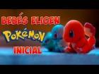 V�deo: Beb�s eligen su Pok�mon inicial