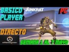 Video: Overwatch Gameplay Español | Let's play Overwatch | Competitivo T4 C13 - JUNKRAT | DIRECTO #969