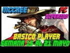 Video: Overwatch Gameplay Español | Let's play Overwatch | ARCADE - MCCREE | DIFERIDO #183