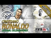 Video FIFA 14 - FIFA 14 | Celebraciones de Cristiano Ronaldo CR7 | Tutorial Goal Celebrations