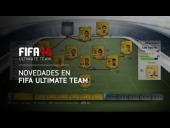 Video FIFA 14 - FIFA 14 - Novedades FIFA Ultimate Team [HD]