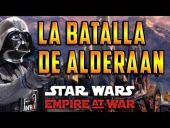 V�deo Star Wars: El Imperio en guerra - STAR WARS EMPIRE AT WAR GAMEPLAY EN ESPA�OL | BATALLA TERRESTRE EN ALDERAAN | Space Minutemen