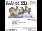 V�deo: Unidos Podemos en Alcorc�n