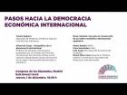 """Video: Acto """"Pasos hacia la democracia económica internacional"""""""
