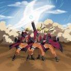 Naruto sennin modo