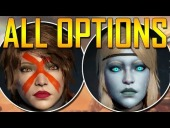 Video Destiny - Destiny's Character Creation - All Alpha Options!