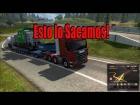 Video: Ets 2 DLC Cargas Pesadas Locomotora de Carga Gameplay Multiplayer Español