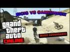 Video: GTA V ONLINE  BICIS VS CAMIONES!! Modo adversario