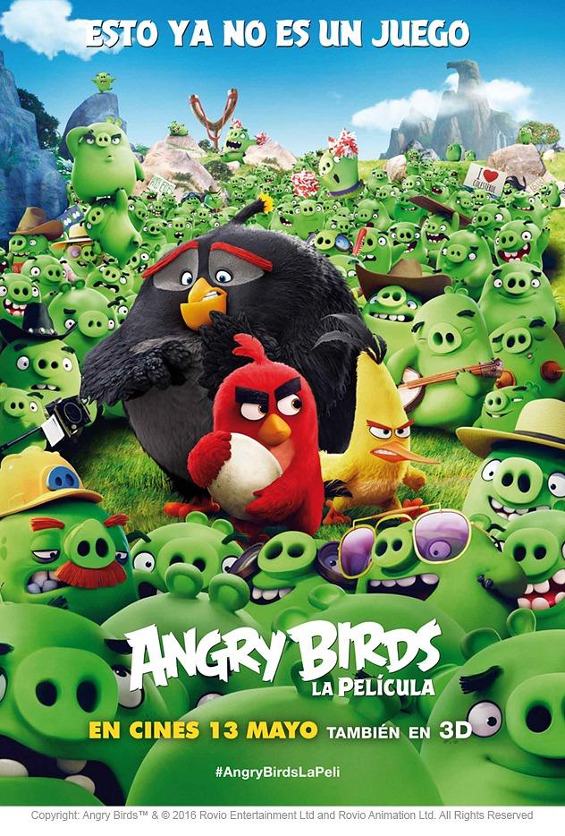Angry Birds. La película: Sorteamos 10 entradas y 2 Sony SmartBand 2