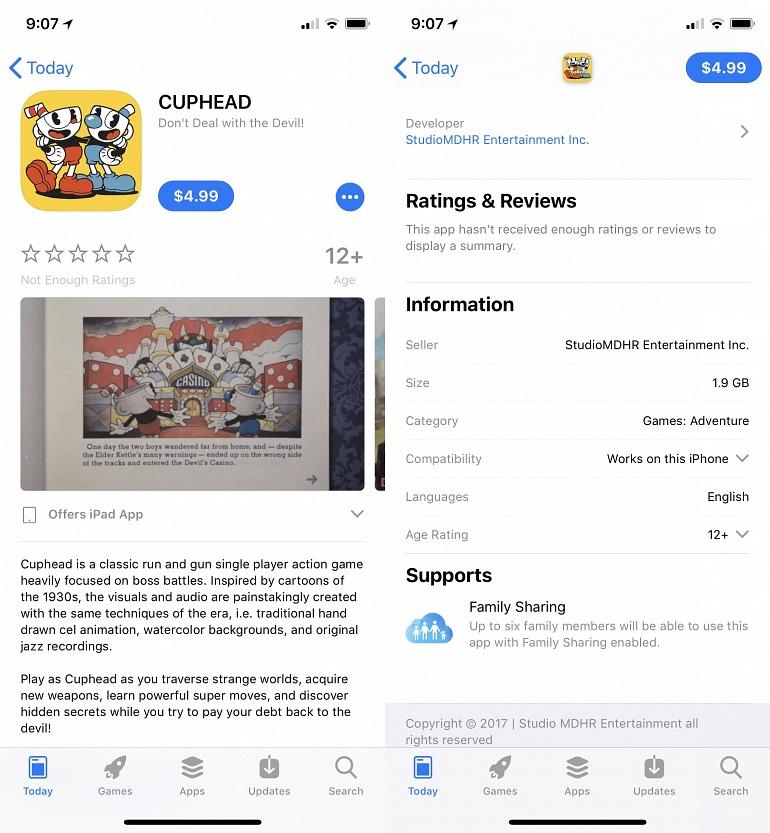 Imagen en la App Store del videojuego-fraude más logrado.