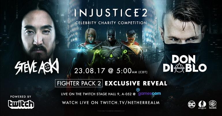 Injustice 2 presentará sus nuevos luchadores en la Gamescom