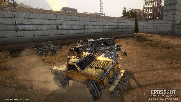 Crossout. Nuevo juego de acción multijugador para PC