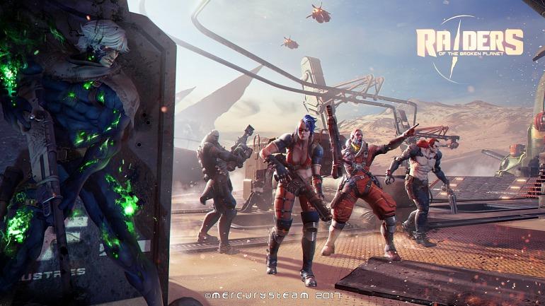 Raiders of the Broken Planet, a 1440p en Xbox One X y 1260p en PS4 Pro