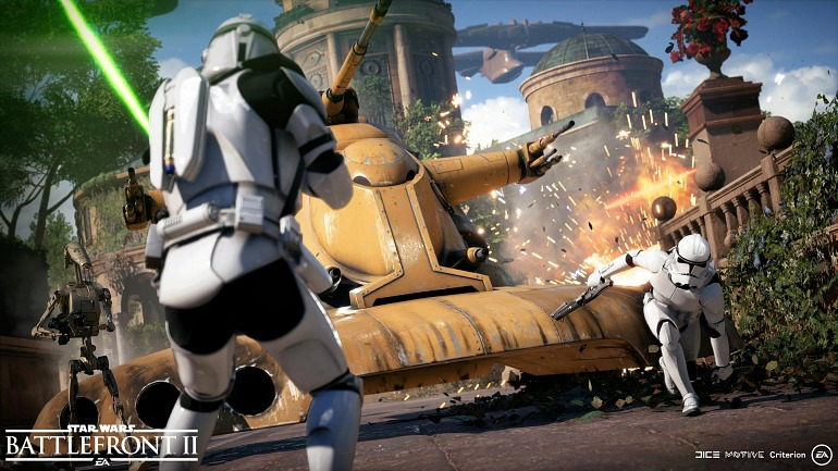 La beta de Star Wars: Battlefront 2 se celebrará en octubre