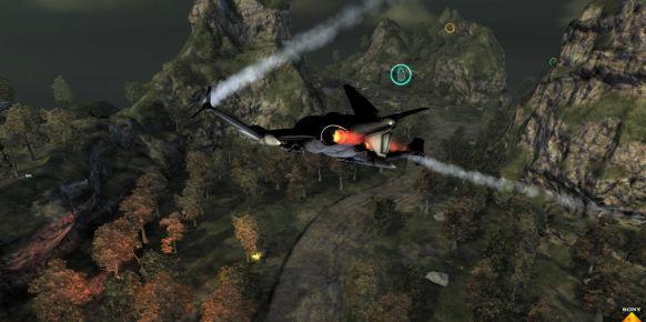Imagen del Warhawk original de PlayStation 3