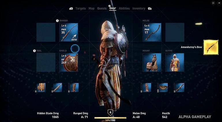 Cosas que podrás hacer por primera vez en Assassin's Creed: Origins